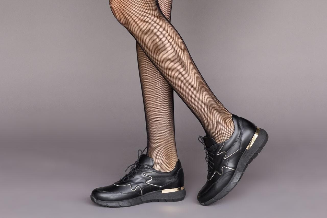 Trampki bayla-157 b026-076-p czarny, skóra naturalna - niskie - trampki - buty damskie - kobieta 12