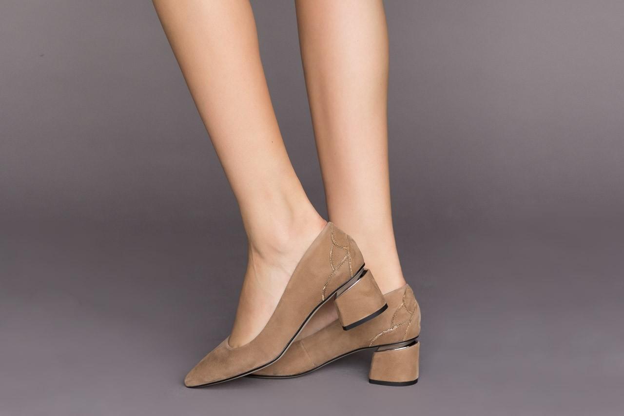 Czółenka bayla-188 030 beż, skóra naturalna - czółenka - buty damskie - kobieta 11