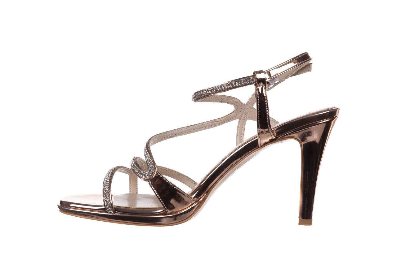 Sandały bayla-187 587-531 róż, skóra ekologiczna  - na obcasie - sandały - buty damskie - kobieta 9