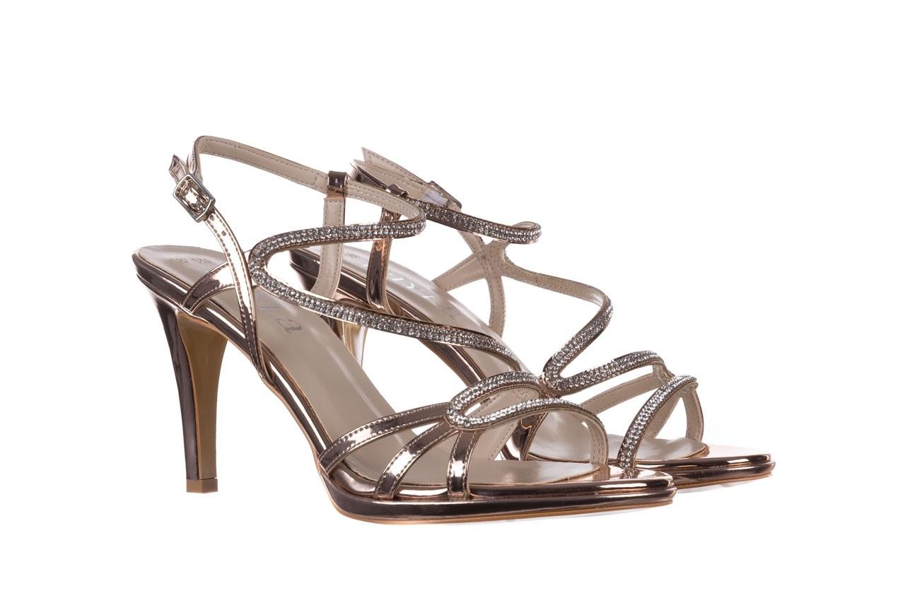 Sandały bayla-187 587-531 róż, skóra ekologiczna  - na obcasie - sandały - buty damskie - kobieta 8