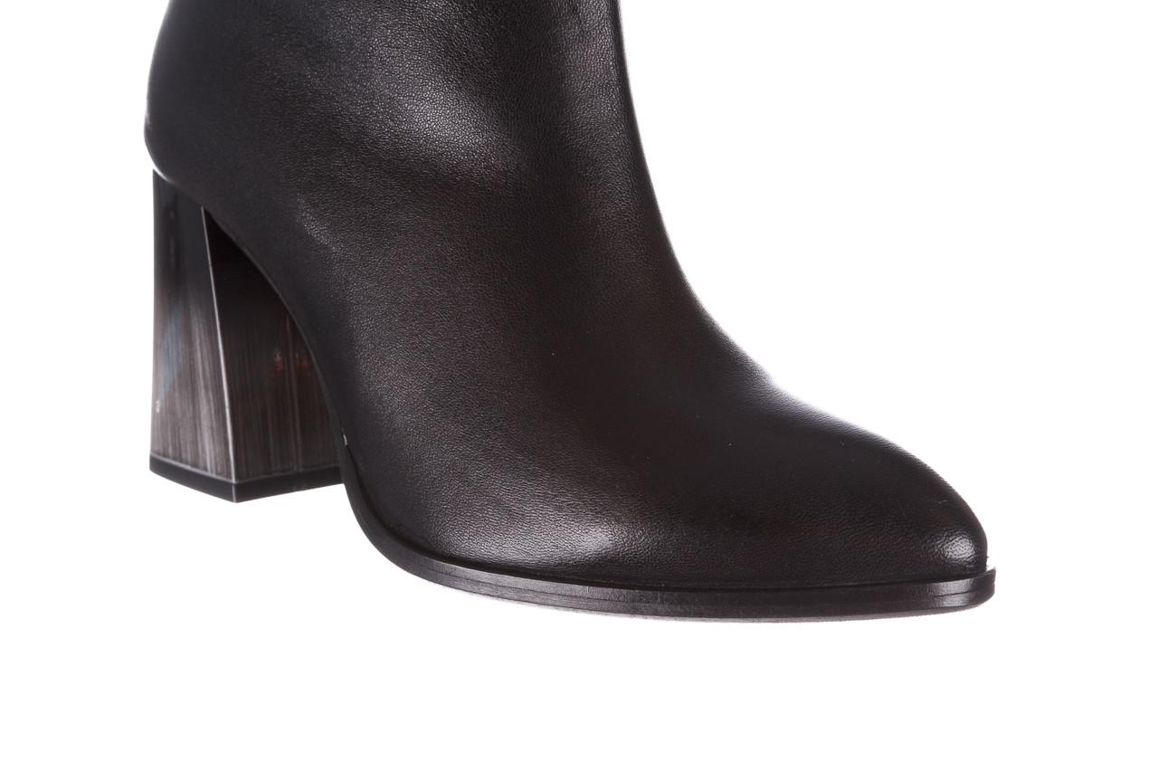 Kozaki bayla-195 20k-7002 black 195008, czarny, skóra naturalna  - kozaki - buty damskie - kobieta 16