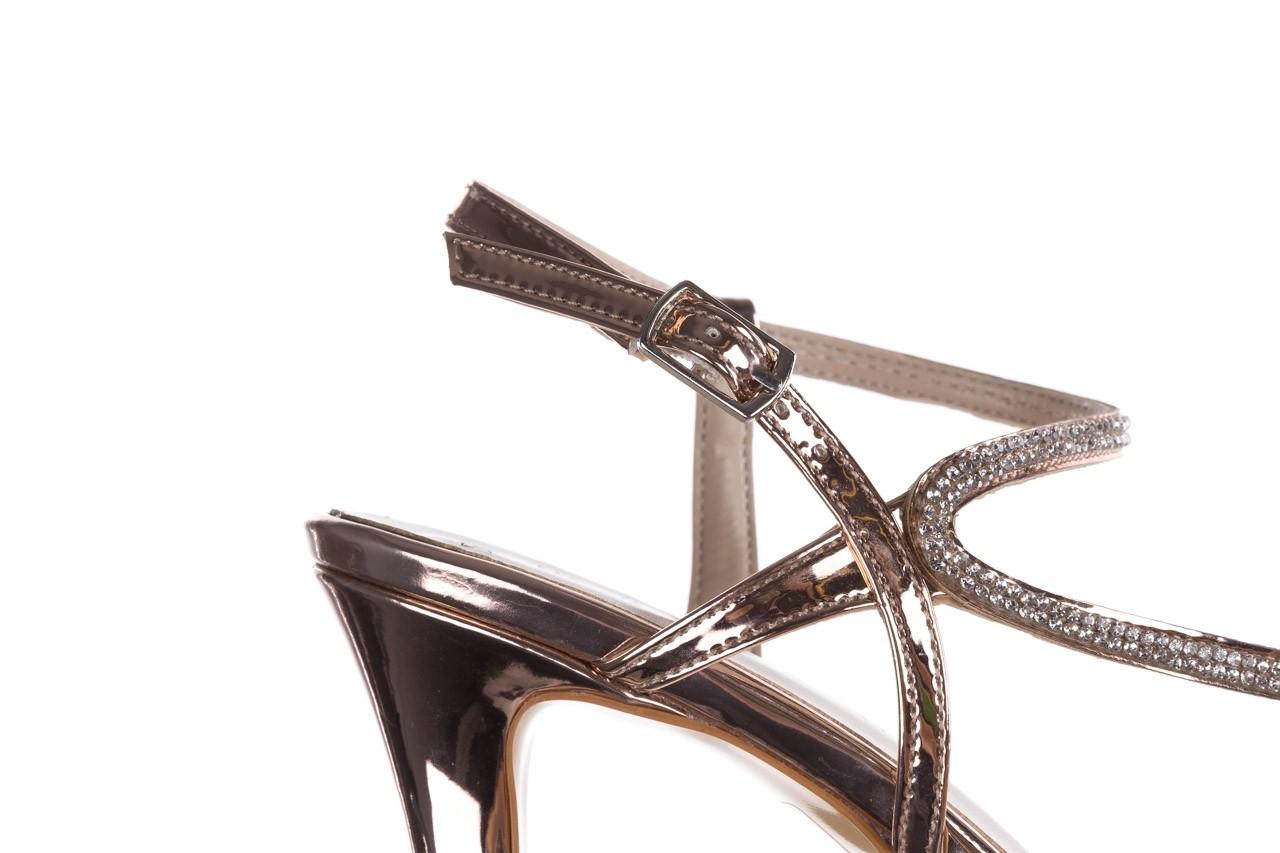 Sandały bayla-187 587-531 róż, skóra ekologiczna  - na obcasie - sandały - buty damskie - kobieta 13