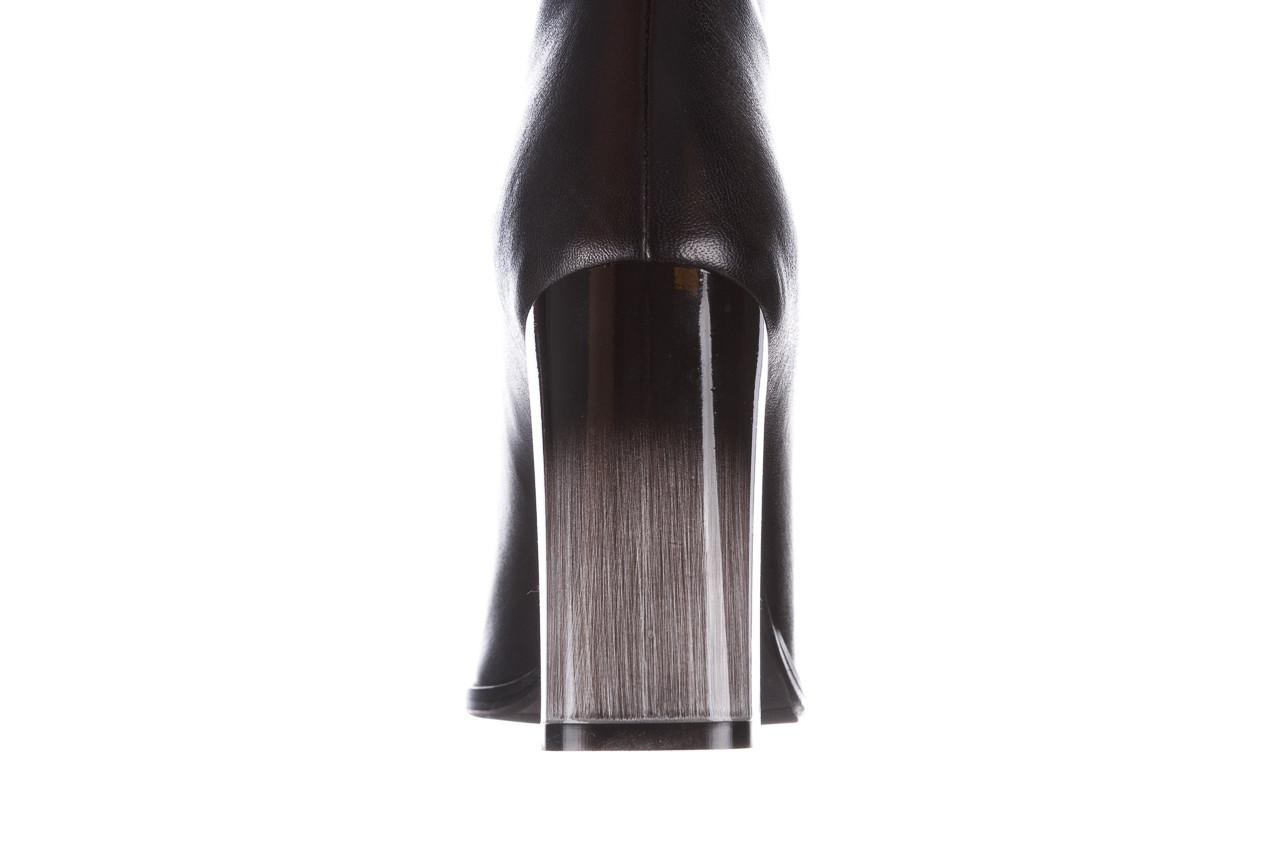 Kozaki bayla-195 20k-7002 black 195008, czarny, skóra naturalna  - kozaki - buty damskie - kobieta 17