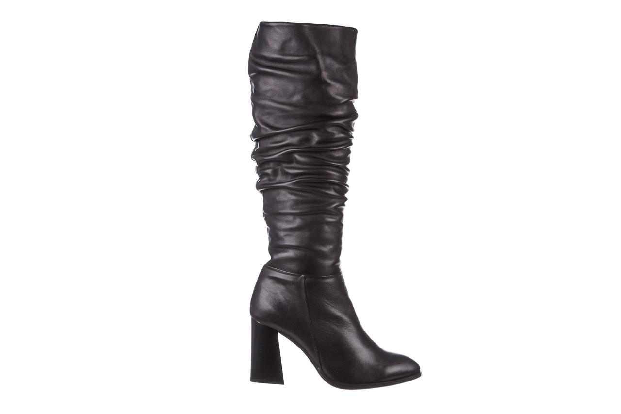 Kozaki bayla-195 20k-7007 black 195011, czarny, skóra naturalna  - kozaki - buty damskie - kobieta 10