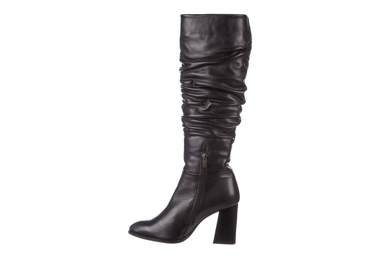 Kozaki bayla-195 20k-7007 black 195011, czarny, skóra naturalna  - kozaki - buty damskie - kobieta 13