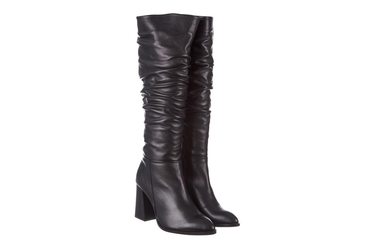 Kozaki bayla-195 20k-7007 black 195011, czarny, skóra naturalna  - kozaki - buty damskie - kobieta 11