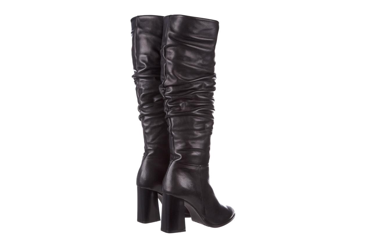 Kozaki bayla-195 20k-7007 black 195011, czarny, skóra naturalna  - kozaki - buty damskie - kobieta 14