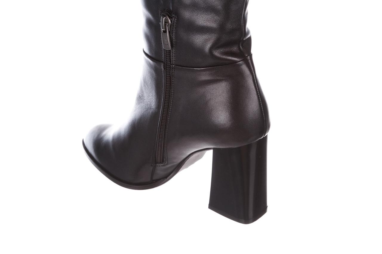 Kozaki bayla-195 20k-7007 black 195011, czarny, skóra naturalna  - kozaki - buty damskie - kobieta 16