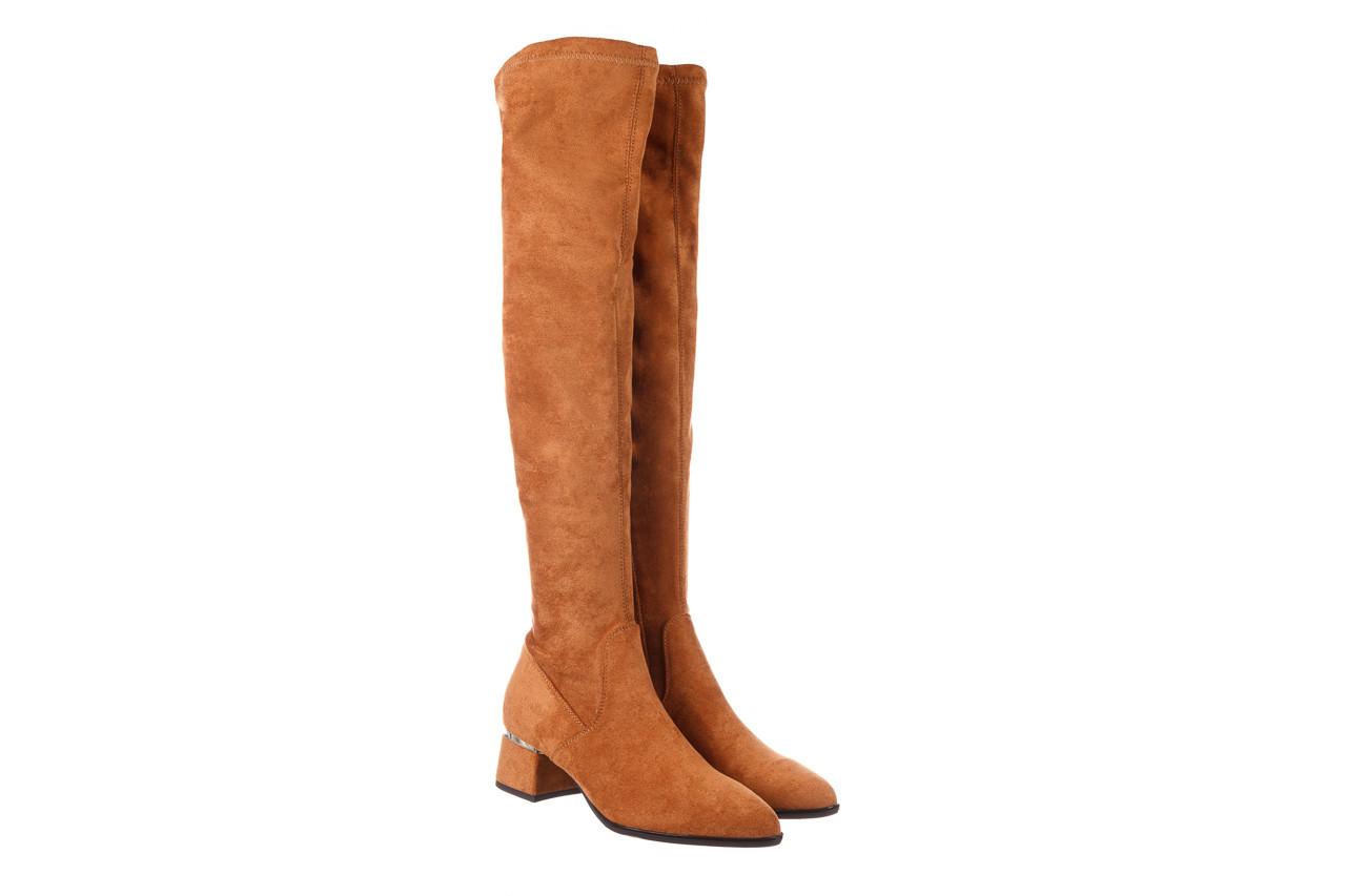 Kozaki bayla-056 9725-1799 karmel 056521, brąz, skóra naturalna  - kobieta 11