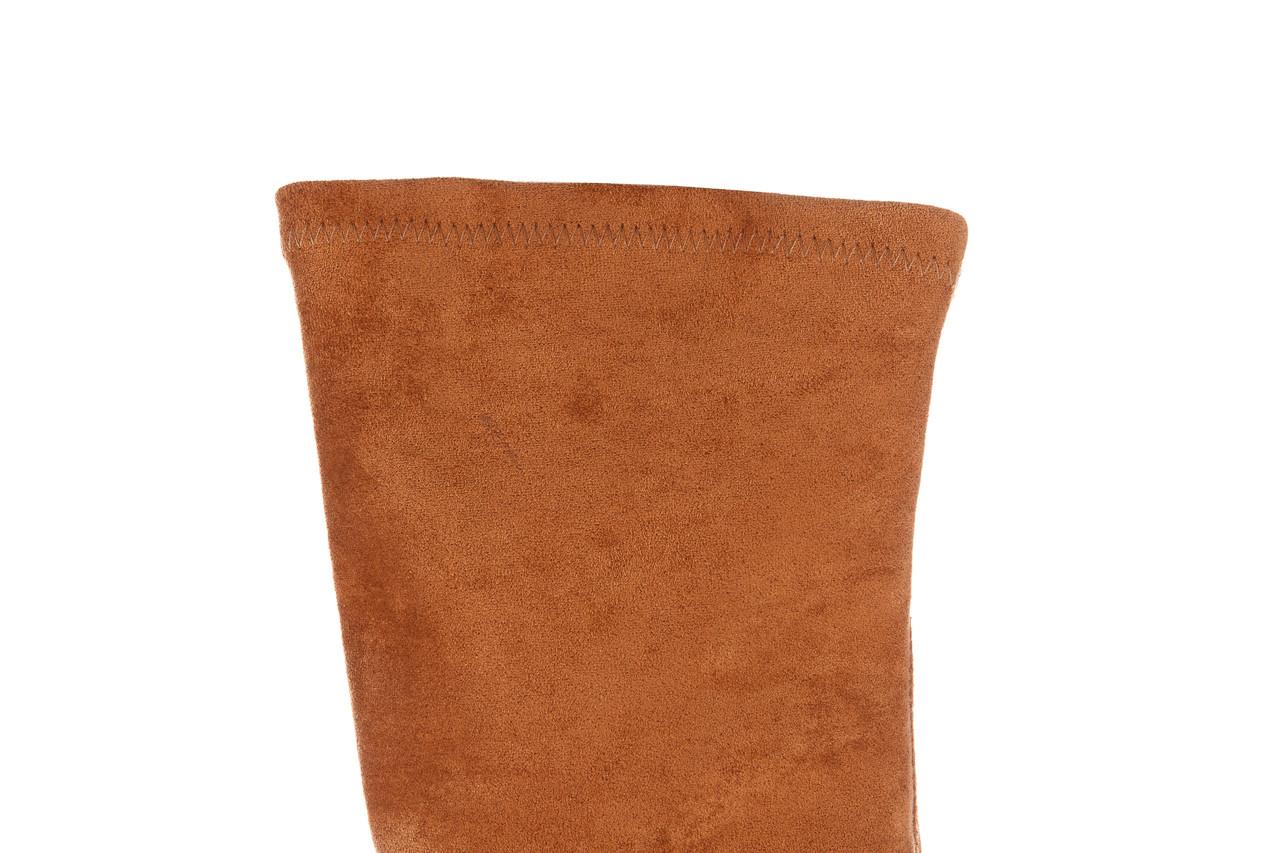 Kozaki bayla-056 9725-1799 karmel 056521, brąz, skóra naturalna  - bayla - nasze marki 18