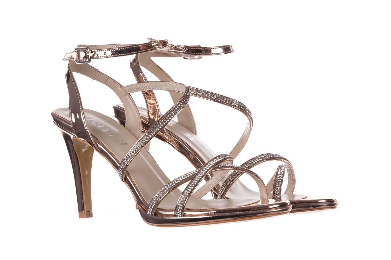 Sandały bayla-187 587-9078 róż j, skóra ekologiczna  - szpilki - buty damskie - kobieta 8
