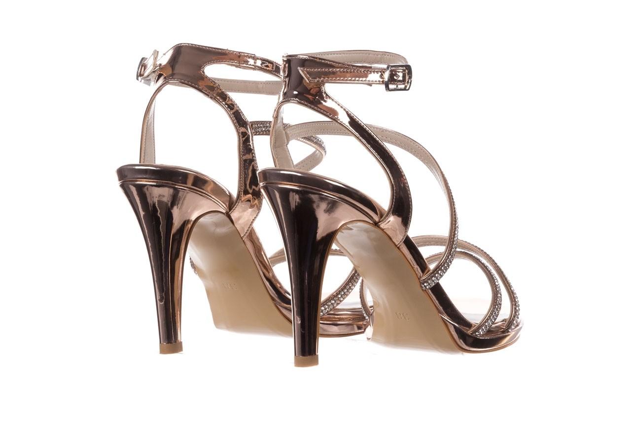 Sandały bayla-187 587-9078 róż j, skóra ekologiczna  - szpilki - buty damskie - kobieta 10