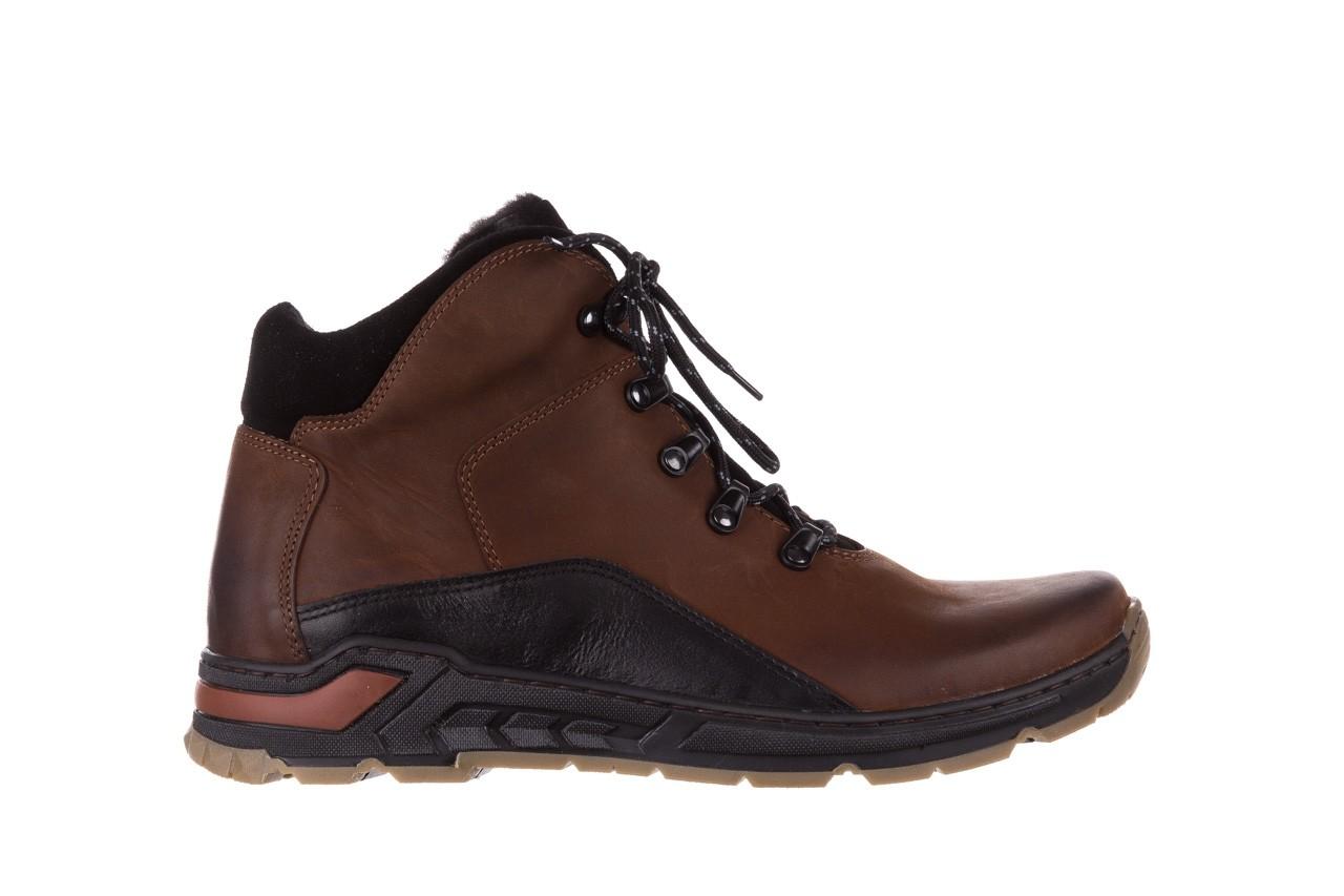 Półbuty bayla-081 903 cuoio, brąz, skóra naturalna  - trzewiki - buty męskie - mężczyzna 9