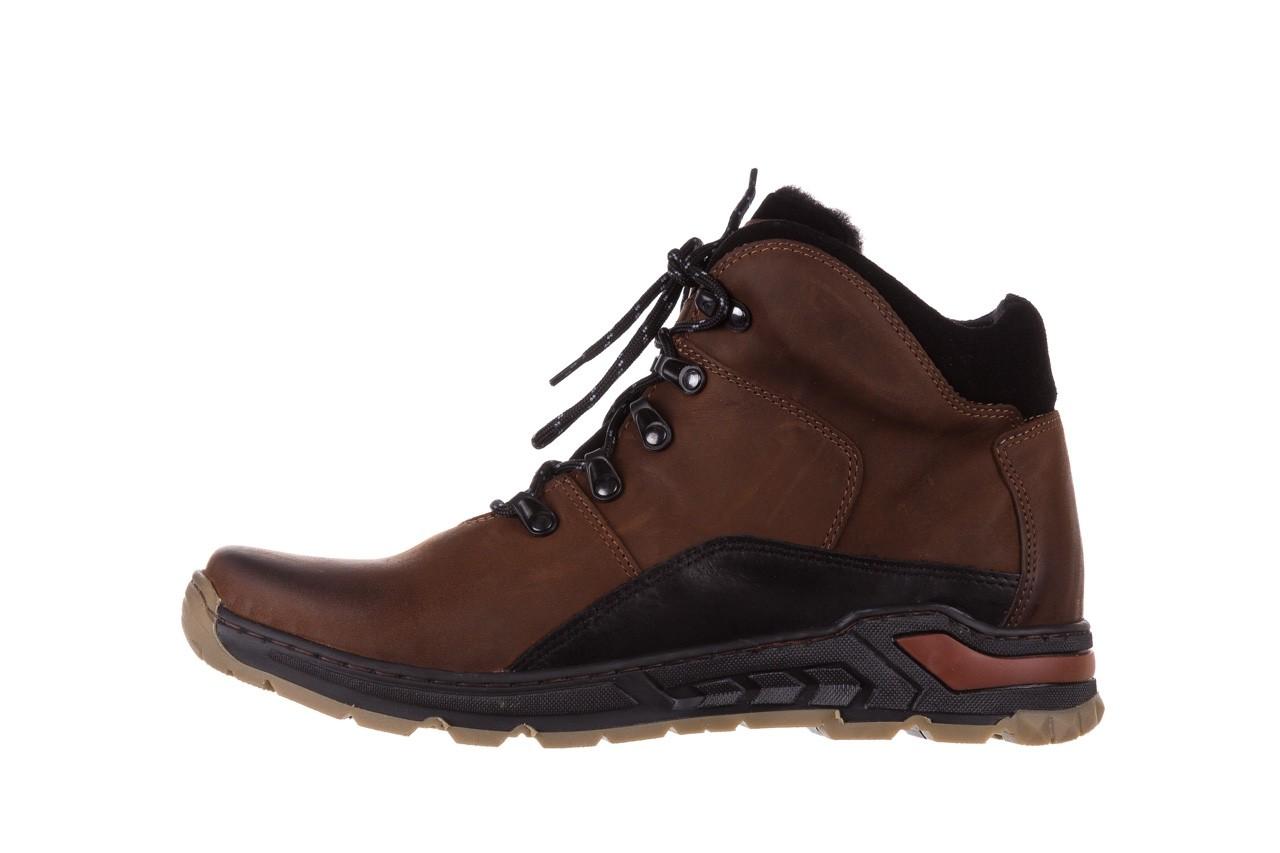 Półbuty bayla-081 903 cuoio, brąz, skóra naturalna  - trzewiki - buty męskie - mężczyzna 11