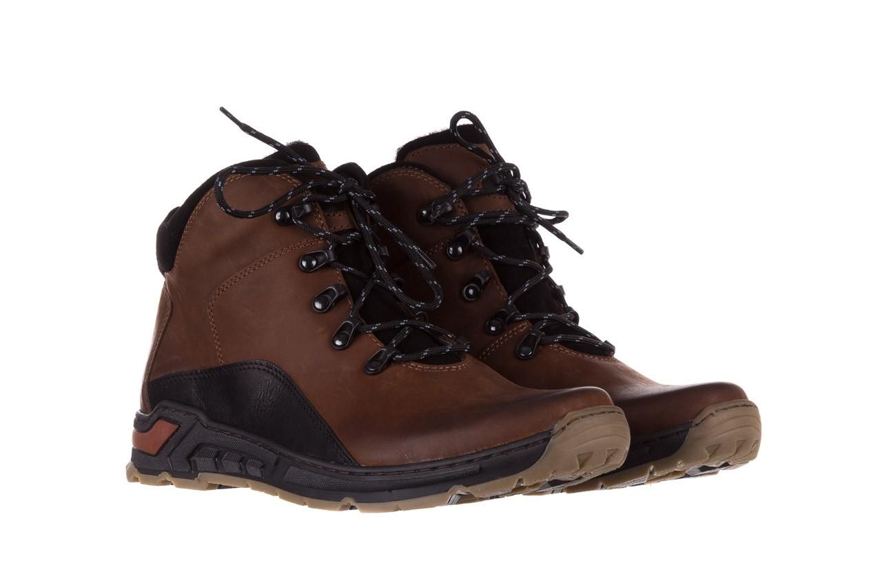 Półbuty bayla-081 903 cuoio, brąz, skóra naturalna  - trzewiki - buty męskie - mężczyzna 10