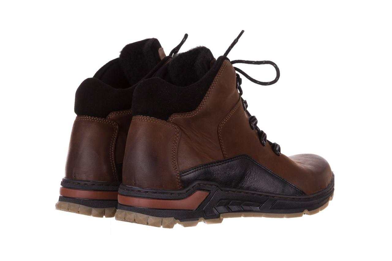Półbuty bayla-081 903 cuoio, brąz, skóra naturalna  - trzewiki - buty męskie - mężczyzna 12