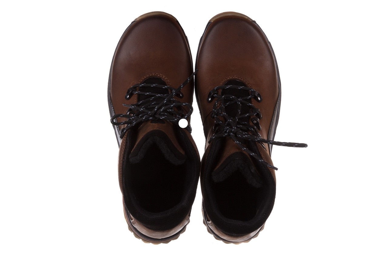 Półbuty bayla-081 903 cuoio, brąz, skóra naturalna  - trzewiki - buty męskie - mężczyzna 13