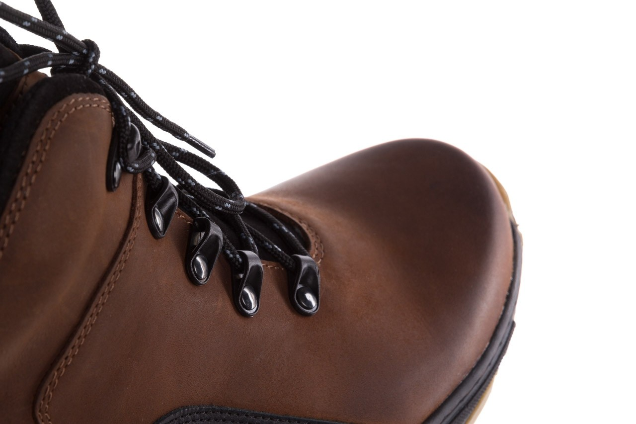 Półbuty bayla-081 903 cuoio, brąz, skóra naturalna  - buty męskie - mężczyzna 15