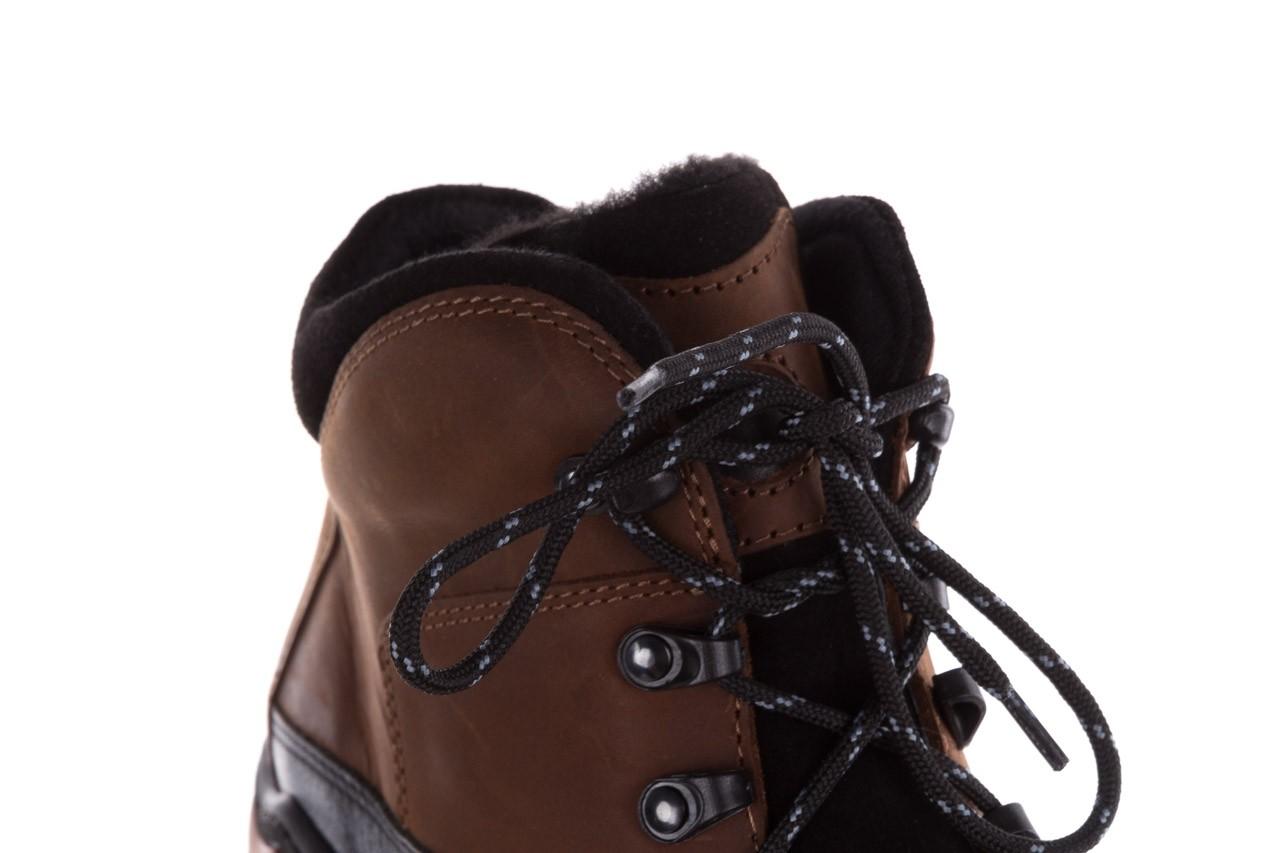 Półbuty bayla-081 903 cuoio, brąz, skóra naturalna  - trzewiki - buty męskie - mężczyzna 16