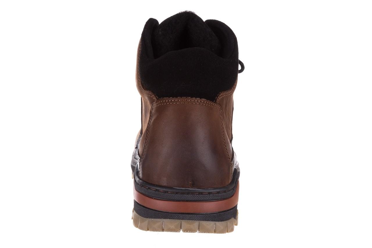 Półbuty bayla-081 903 cuoio, brąz, skóra naturalna  - trzewiki - buty męskie - mężczyzna 17