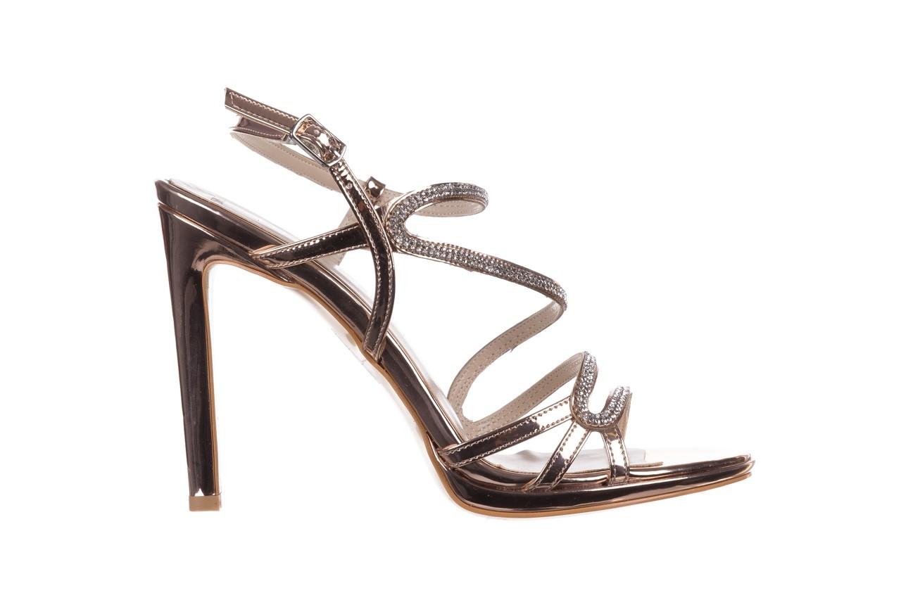 Sandałki bayla-187 589-531 róż, skóra ekologiczna  - na obcasie - sandały - buty damskie - kobieta 7