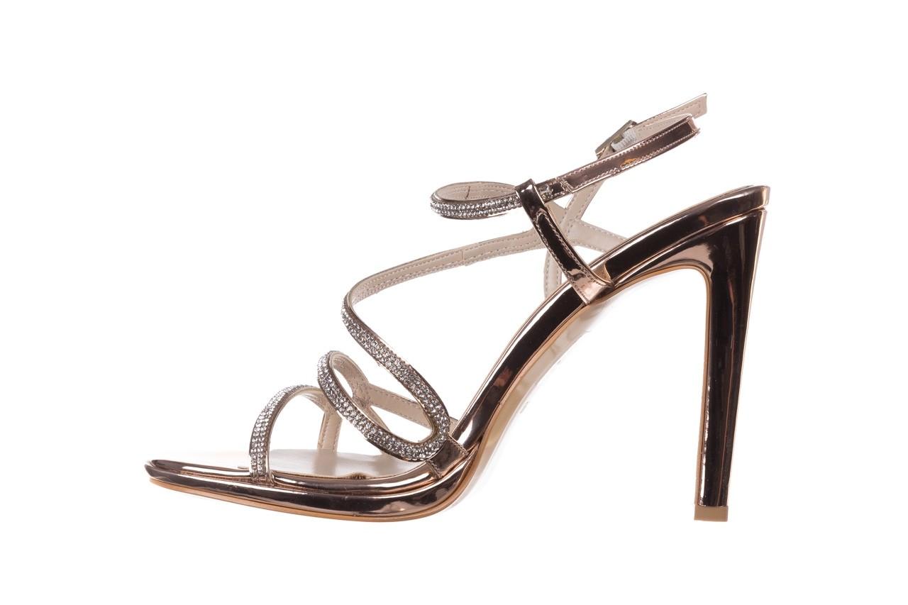 Sandałki bayla-187 589-531 róż, skóra ekologiczna  - na obcasie - sandały - buty damskie - kobieta 9