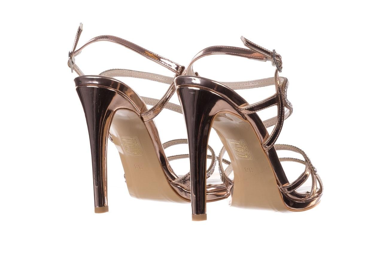 Sandałki bayla-187 589-531 róż, skóra ekologiczna  - na obcasie - sandały - buty damskie - kobieta 10