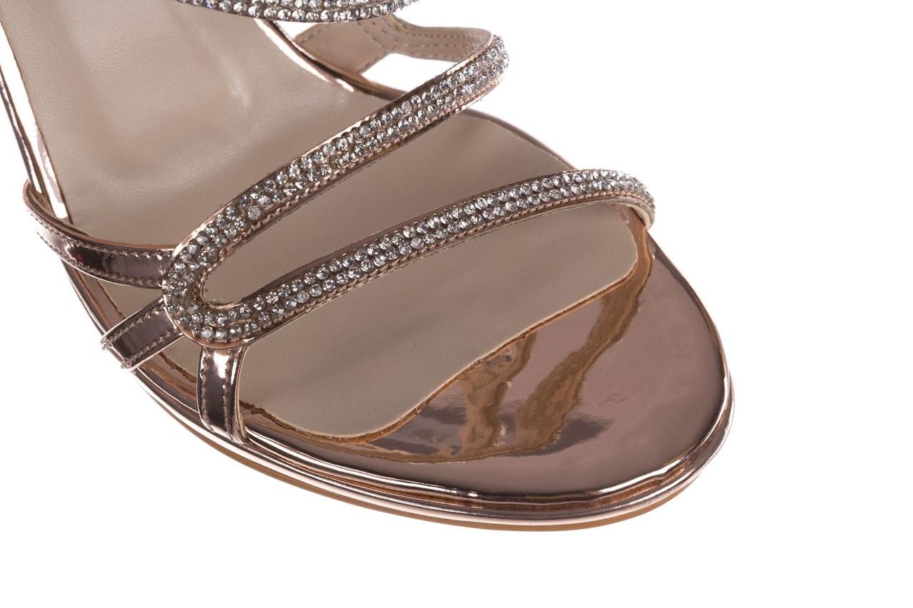 Sandałki bayla-187 589-531 róż, skóra ekologiczna  - na obcasie - sandały - buty damskie - kobieta 12