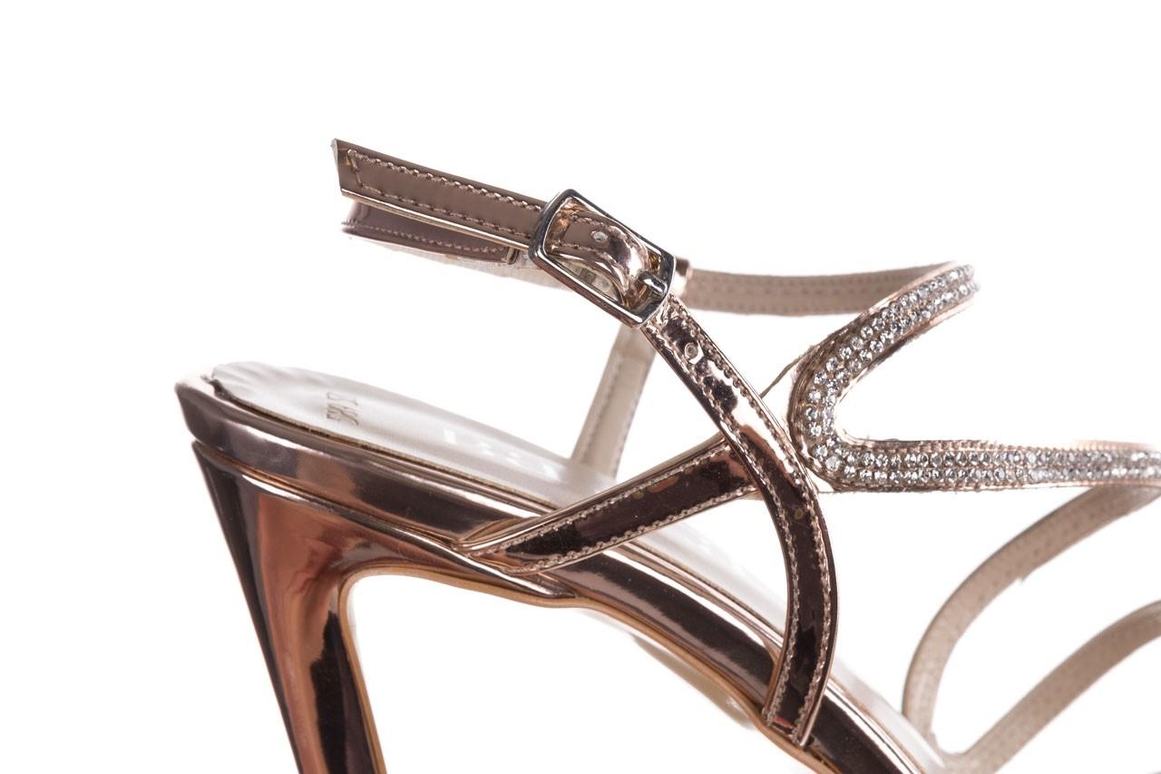 Sandałki bayla-187 589-531 róż, skóra ekologiczna  - na obcasie - sandały - buty damskie - kobieta 13