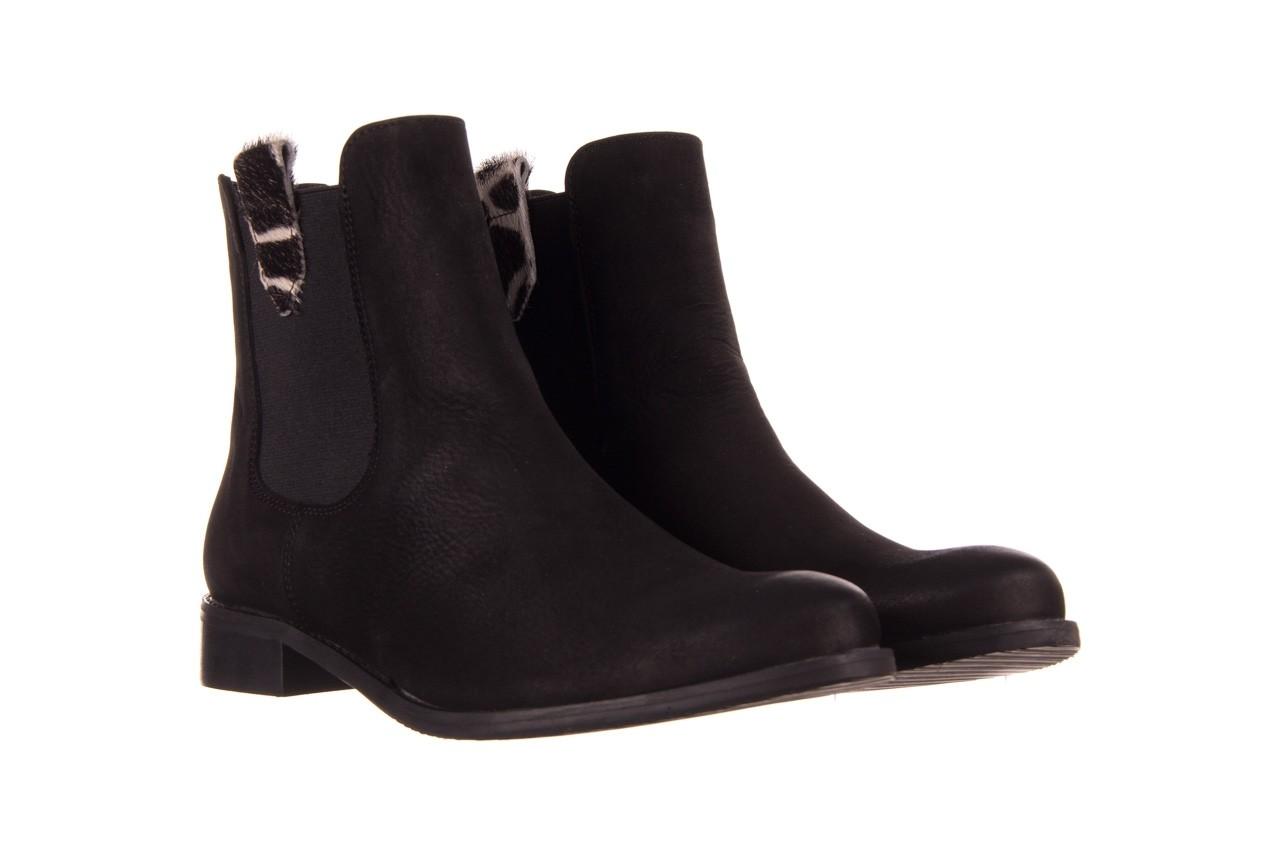 Botki bayla-157 b010-003-f czarny, skóra naturalna  - zamszowe - botki - buty damskie - kobieta 10