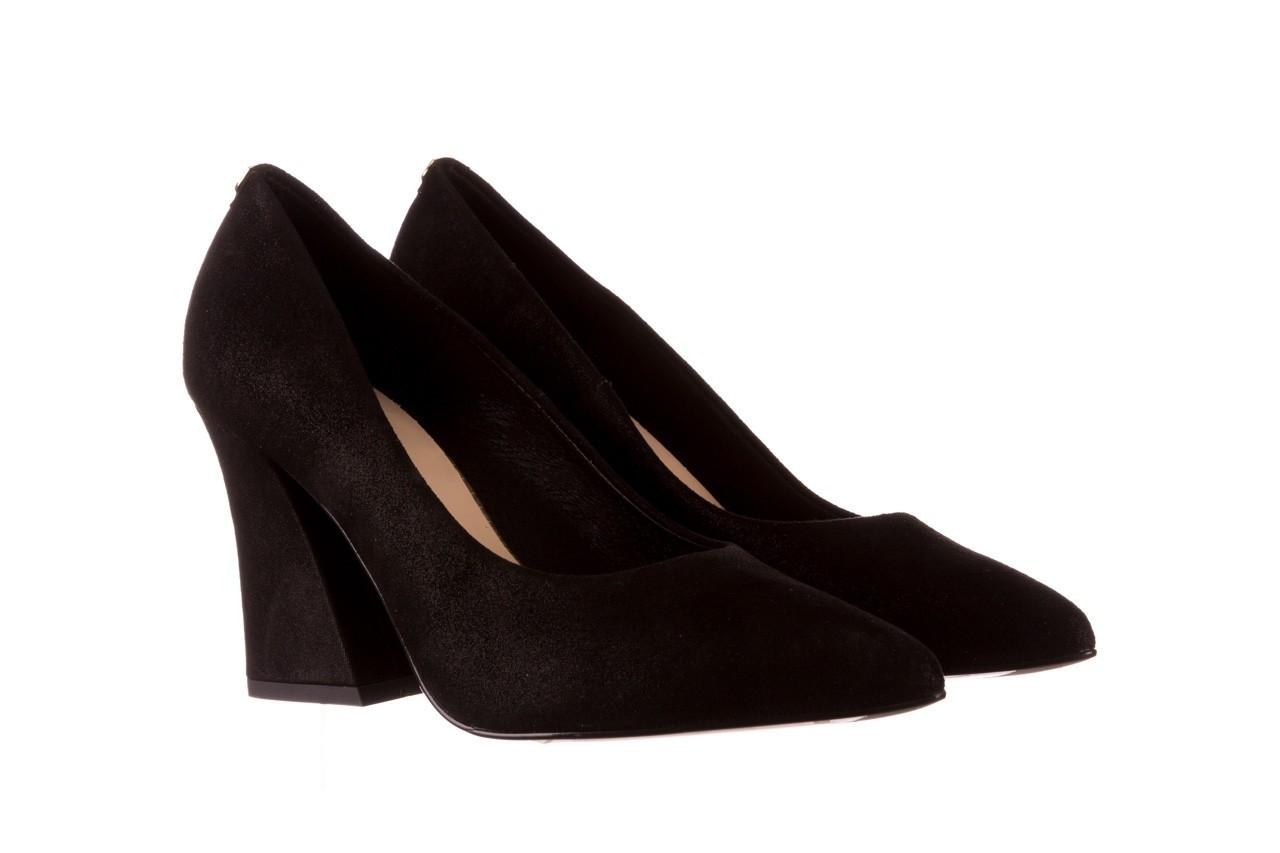 Czółenka bayla-056 9570-1445 czarny zamsz, skóra naturalna  - zamszowe - czółenka - buty damskie - kobieta 8