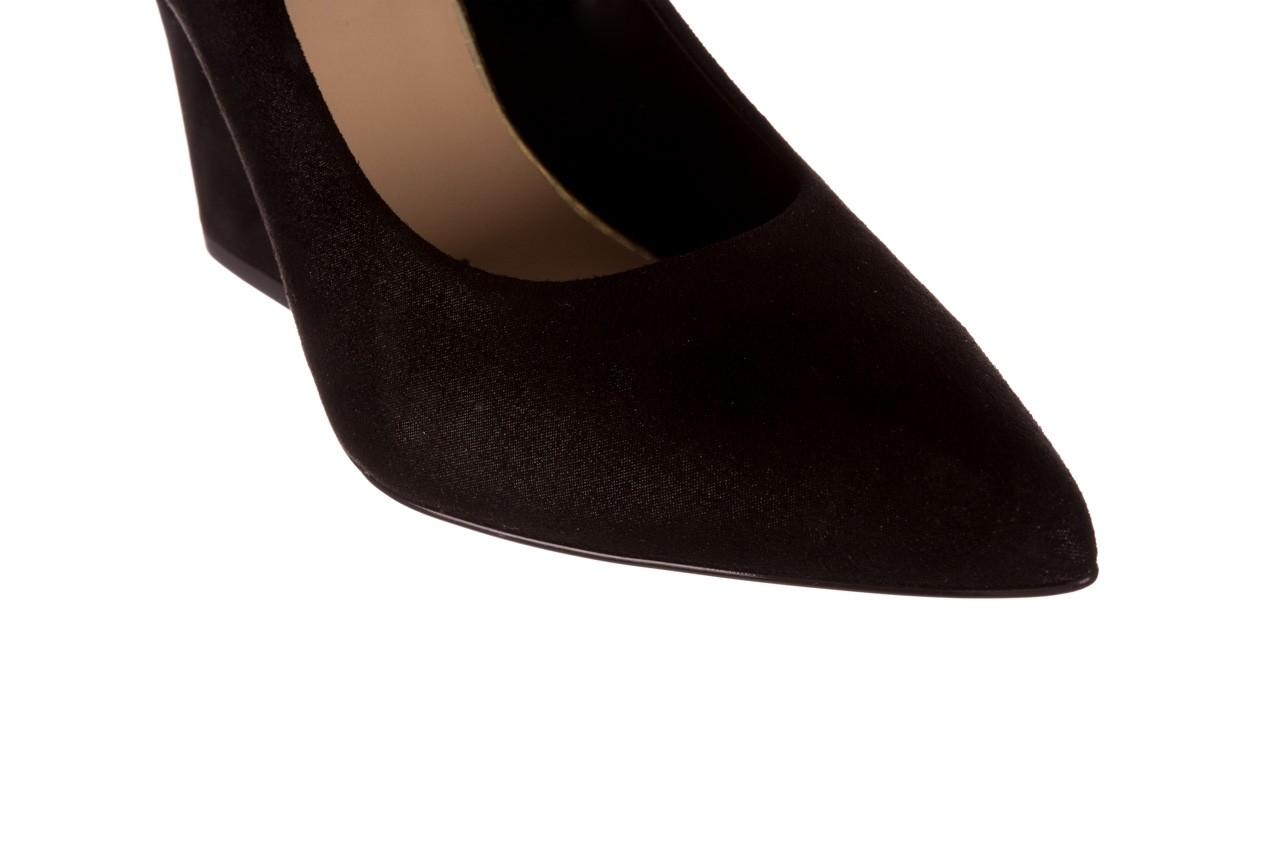 Czółenka bayla-056 9570-1445 czarny zamsz, skóra naturalna  - zamszowe - czółenka - buty damskie - kobieta 13