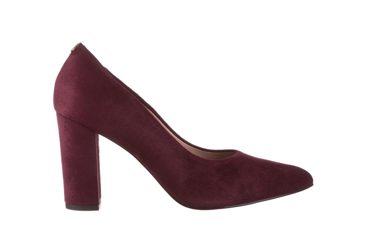 Czółenka bayla-056 9119-1321 fiolet zamsz, skóra naturalna  - na słupku - czółenka - buty damskie - kobieta 7