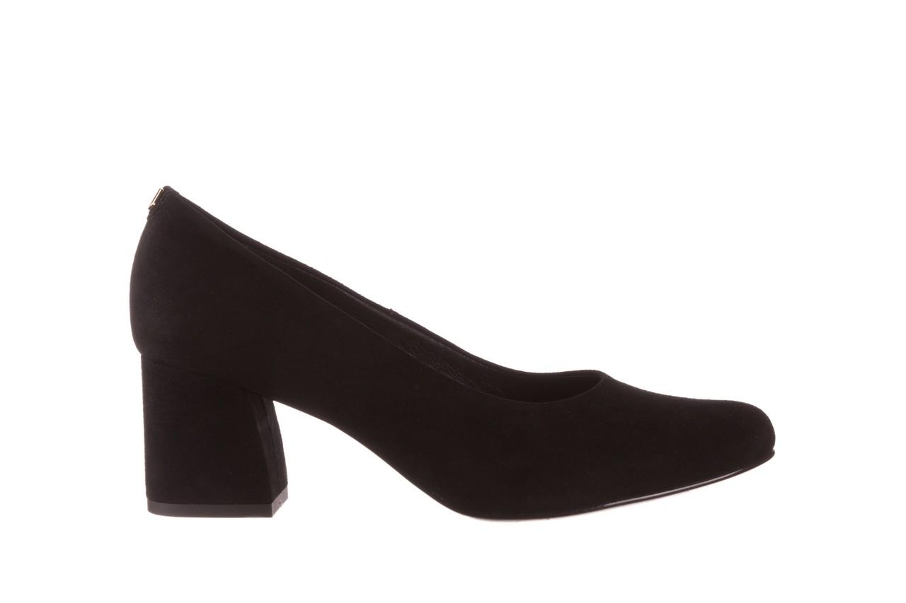 Czółenka bayla-056 9469-21 czarny zamsz, skóra naturalna  - zamszowe - czółenka - buty damskie - kobieta 7