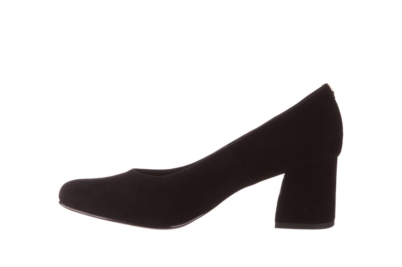 Czółenka bayla-056 9469-21 czarny zamsz, skóra naturalna  - zamszowe - czółenka - buty damskie - kobieta 9