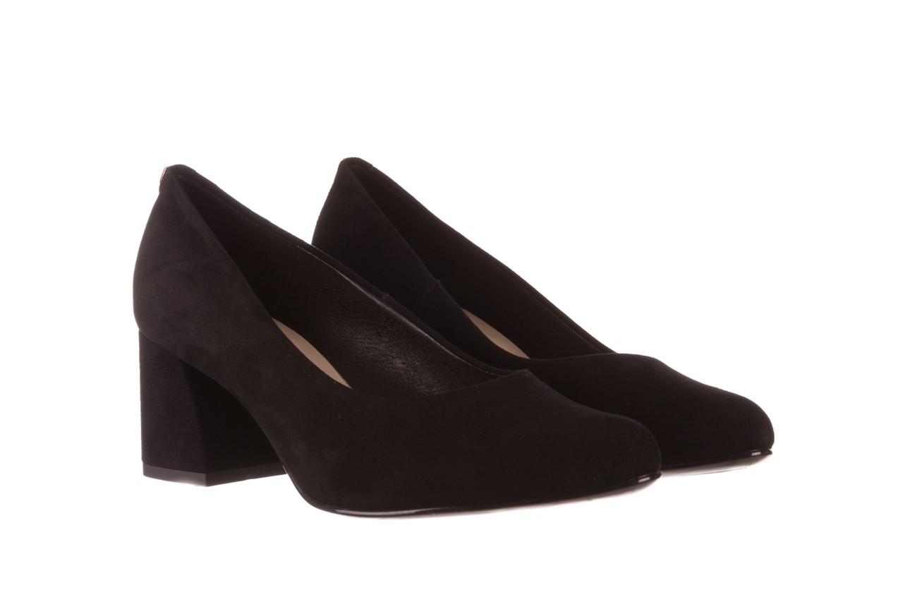 Czółenka bayla-056 9469-21 czarny zamsz, skóra naturalna  - zamszowe - czółenka - buty damskie - kobieta 8
