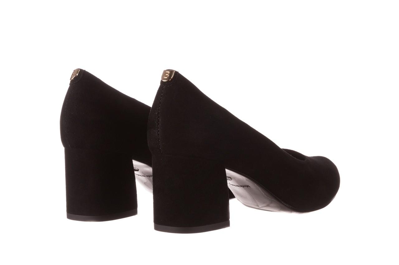 Czółenka bayla-056 9469-21 czarny zamsz, skóra naturalna  - zamszowe - czółenka - buty damskie - kobieta 10