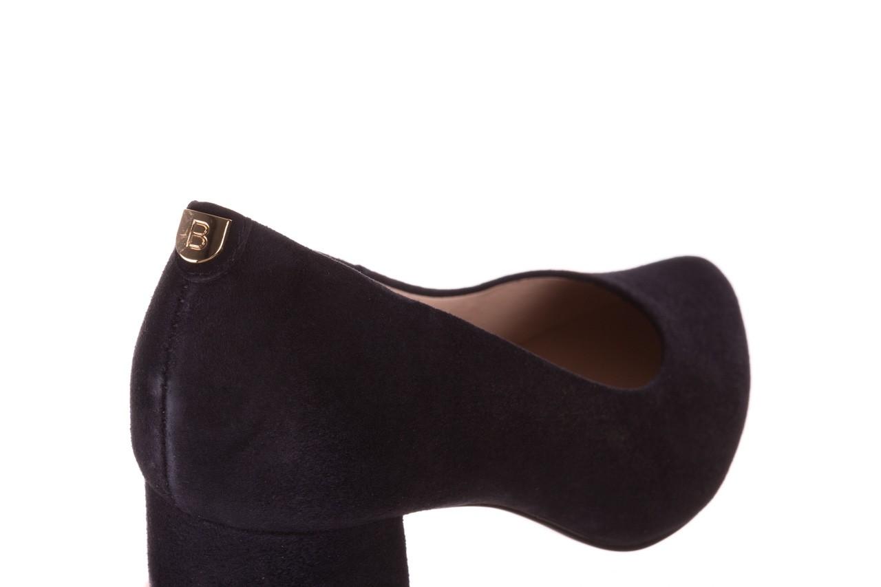 Czółenka bayla-056 9469-488 granat zamsz, skóra naturalna  - zamszowe - czółenka - buty damskie - kobieta 12
