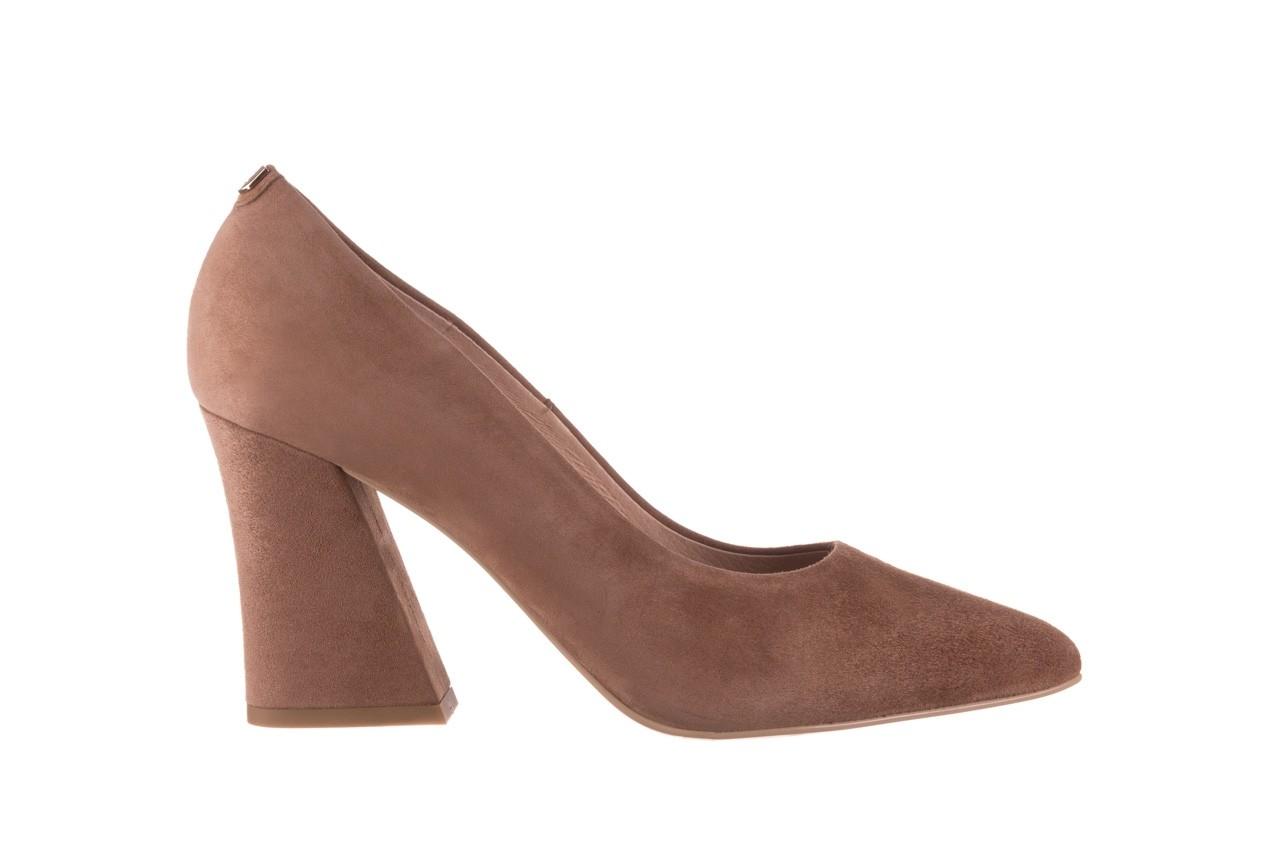 Czółenka bayla-056 9570-1508 beż zamsz, skóra naturalna  - zamszowe - czółenka - buty damskie - kobieta 7