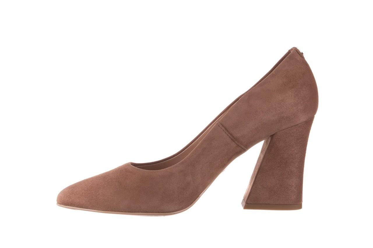 Czółenka bayla-056 9570-1508 beż zamsz, skóra naturalna  - zamszowe - czółenka - buty damskie - kobieta 9