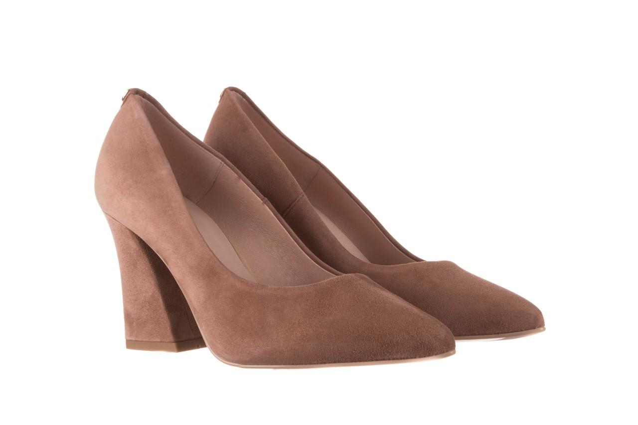 Czółenka bayla-056 9570-1508 beż zamsz, skóra naturalna  - zamszowe - czółenka - buty damskie - kobieta 8