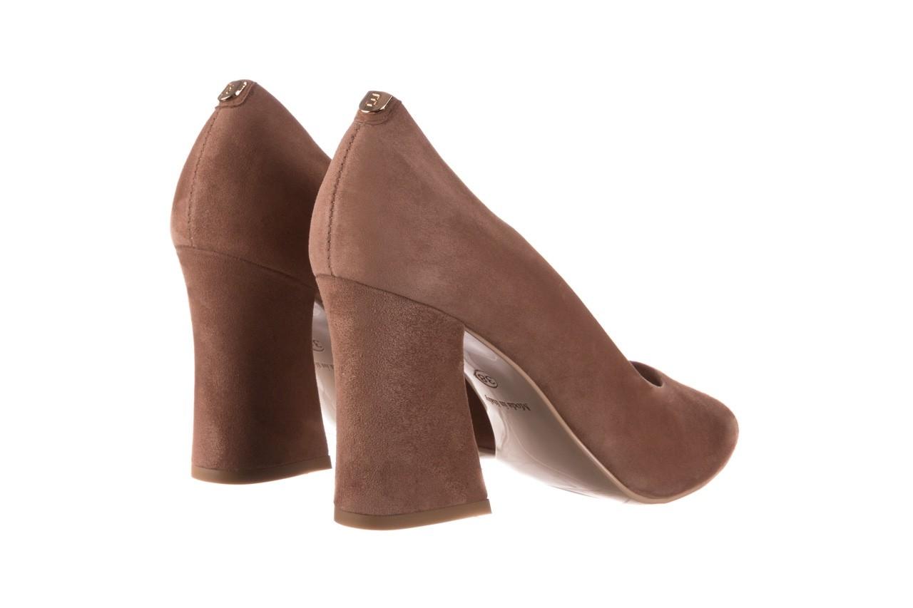 Czółenka bayla-056 9570-1508 beż zamsz, skóra naturalna  - zamszowe - czółenka - buty damskie - kobieta 10