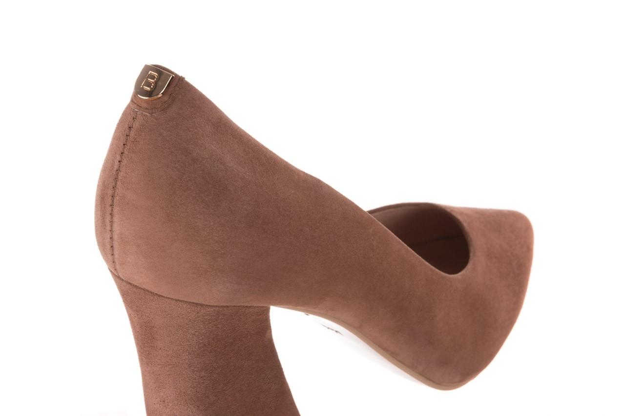 Czółenka bayla-056 9570-1508 beż zamsz, skóra naturalna  - zamszowe - czółenka - buty damskie - kobieta 12
