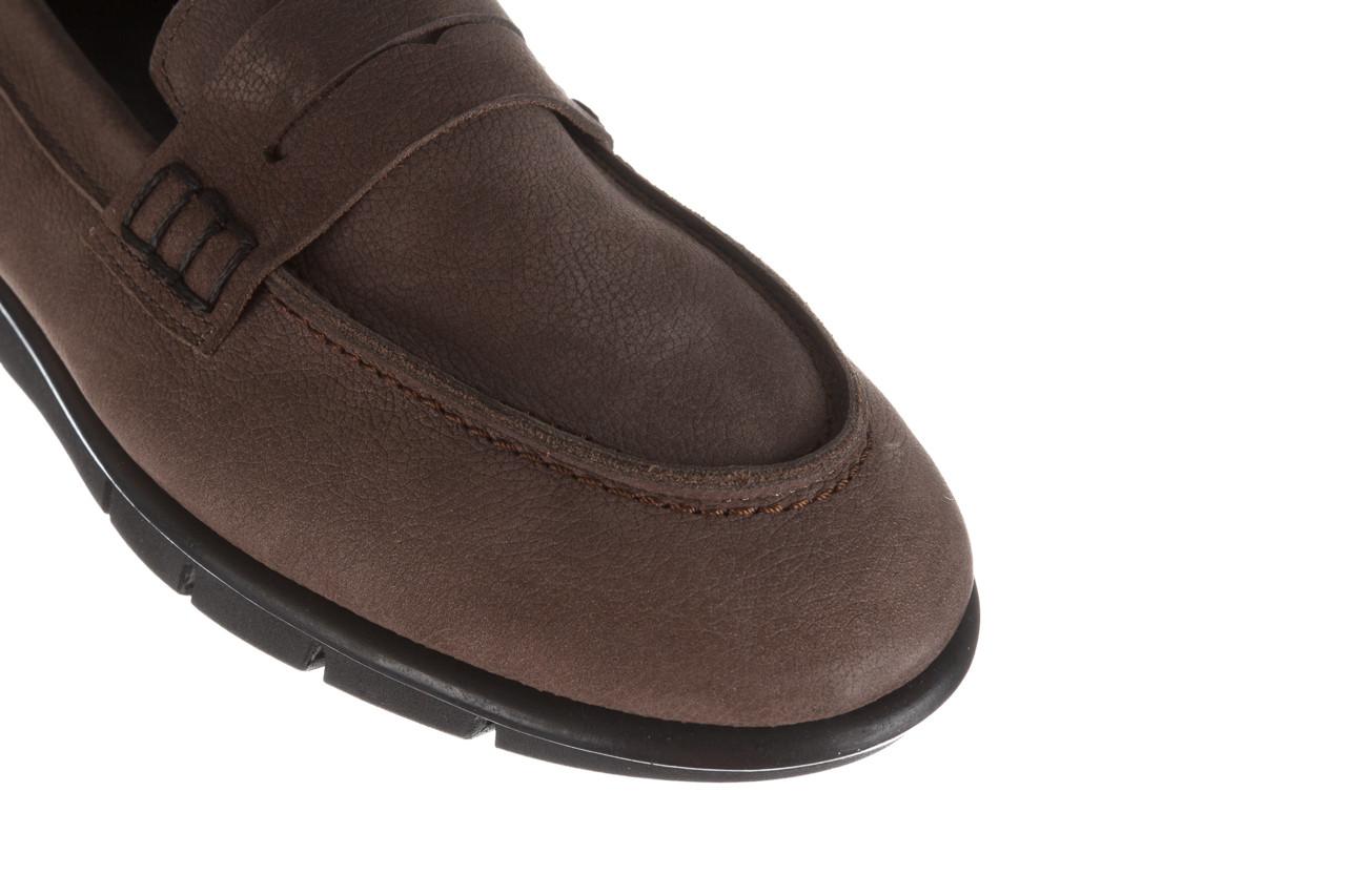Półbuty bayla-196 168201 d86 196012, szary, skóra naturalna  - zamszowe - półbuty - buty damskie - kobieta 15