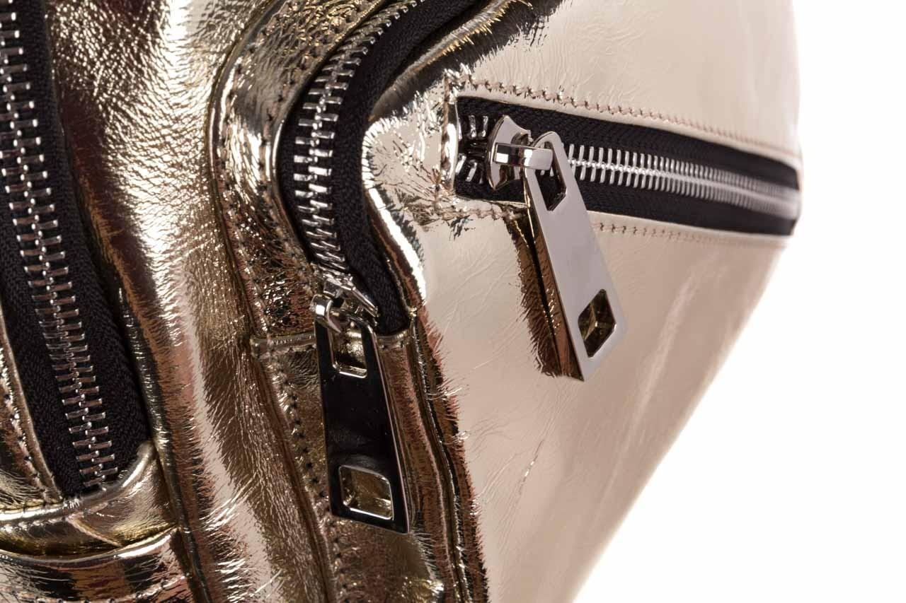 Plecak sca'viola torebka t-84 gold, złoty, skóra naturalna  - plecaki - torebki - akcesoria - kobieta 13