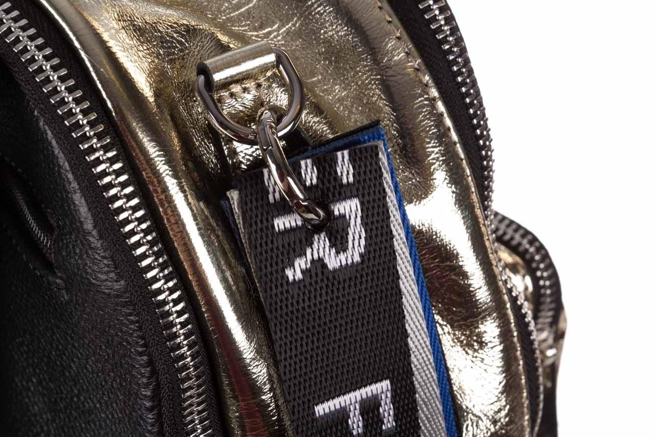 Plecak sca'viola torebka t-84 gold, złoty, skóra naturalna  - plecaki - torebki - akcesoria - kobieta 14