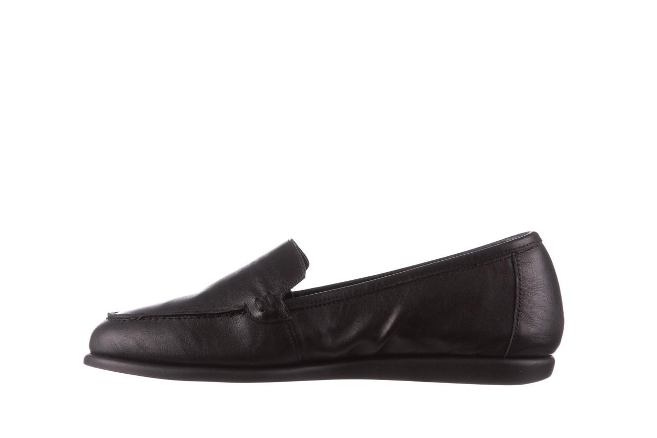 Półbuty bayla-196 168504 d44 196015, czarny, skóra naturalna  - skórzane - półbuty - buty damskie - kobieta 12