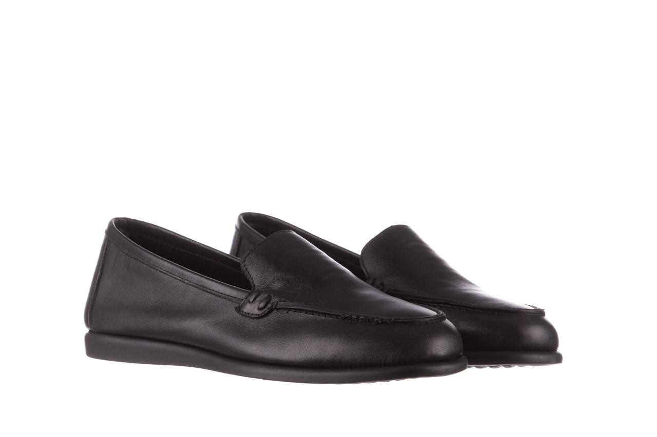 Półbuty bayla-196 168504 d44 196015, czarny, skóra naturalna  - skórzane - półbuty - buty damskie - kobieta 10