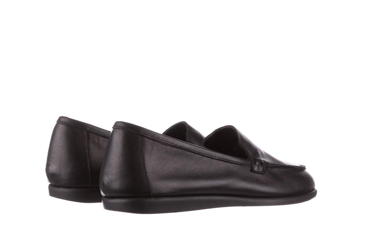 Półbuty bayla-196 168504 d44 196015, czarny, skóra naturalna  - skórzane - półbuty - buty damskie - kobieta 13