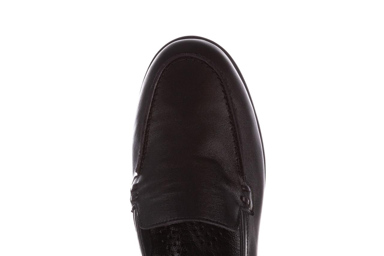 Półbuty bayla-196 168504 d44 196015, czarny, skóra naturalna  - skórzane - półbuty - buty damskie - kobieta 16